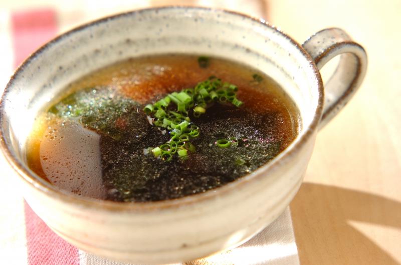 ザーサイとワカメのスープ