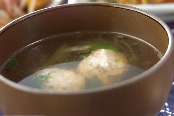 鶏だんごスープの作り方の手順