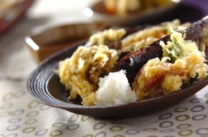 いろいろ野菜の天ぷらの作り方の手順
