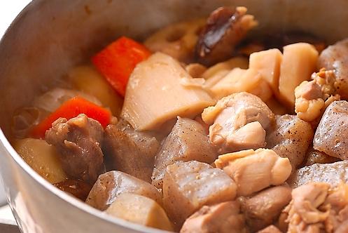 筑前煮の作り方の手順12