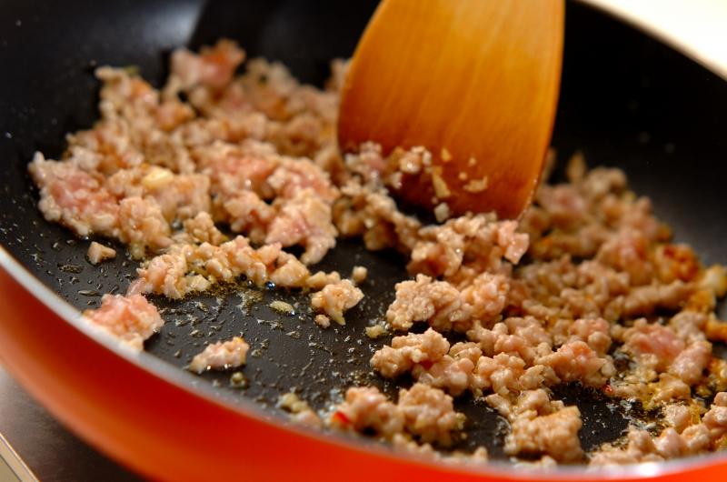春雨とひき肉のピリ辛炒めの作り方の手順6
