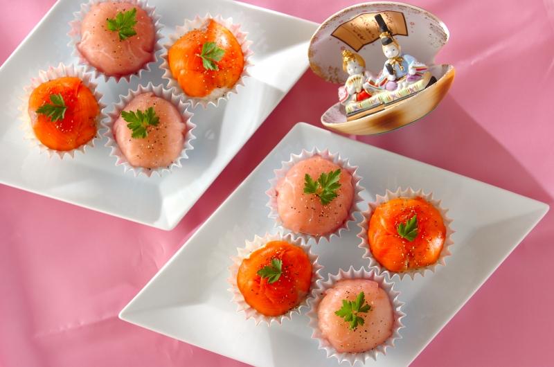 洋風手まり寿司の作り方の手順