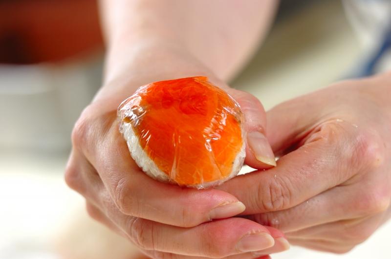 洋風手まり寿司の作り方の手順2