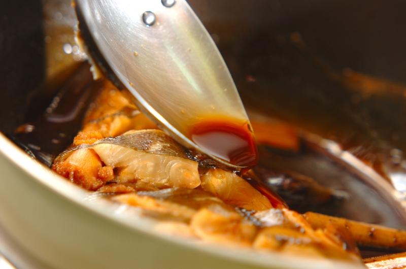 カレイの煮つけの作り方の手順4