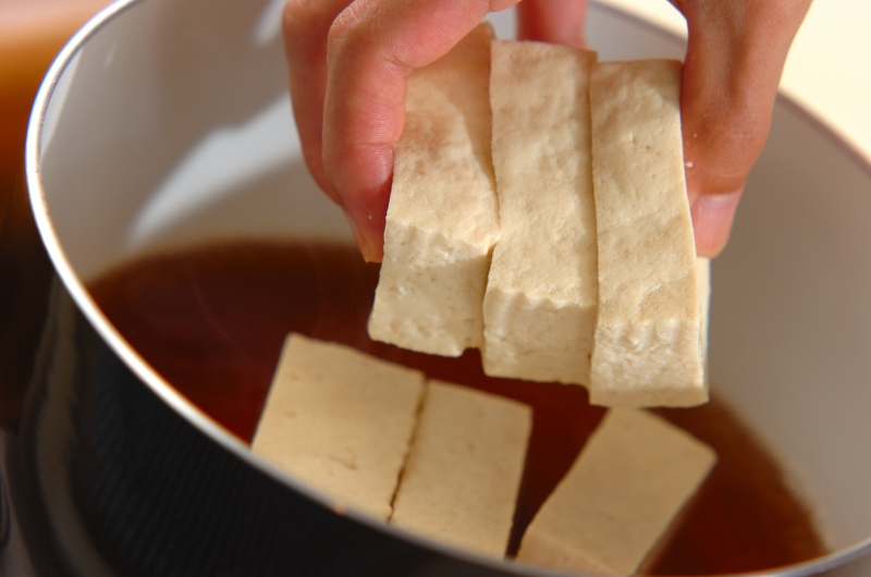 豆腐のたっぷり野菜あんかけの作り方の手順7