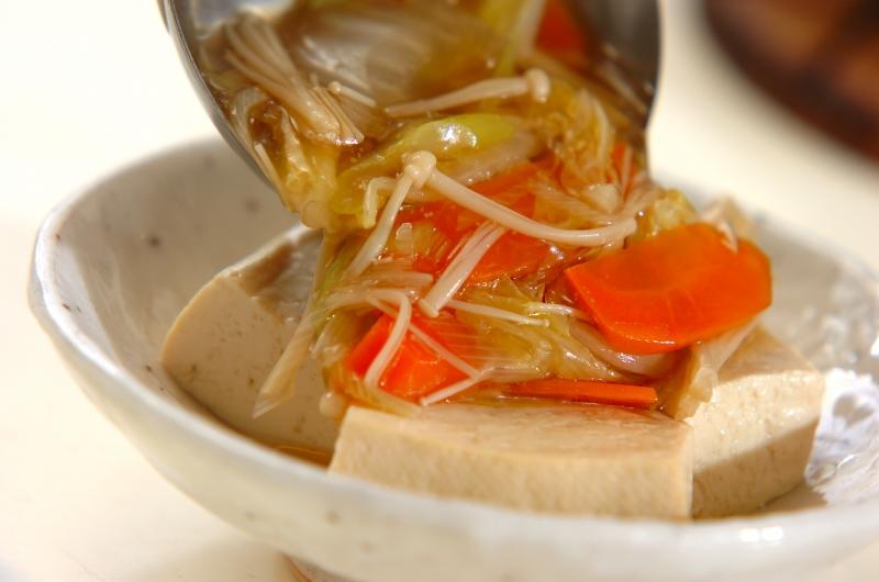 豆腐のたっぷり野菜あんかけの作り方の手順9