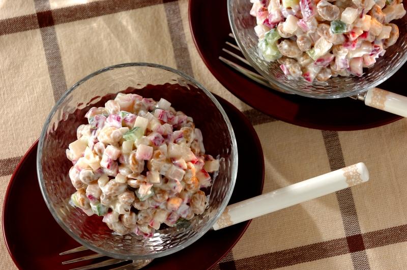 ヨーグルト大豆と赤カブのサラダの作り方の手順