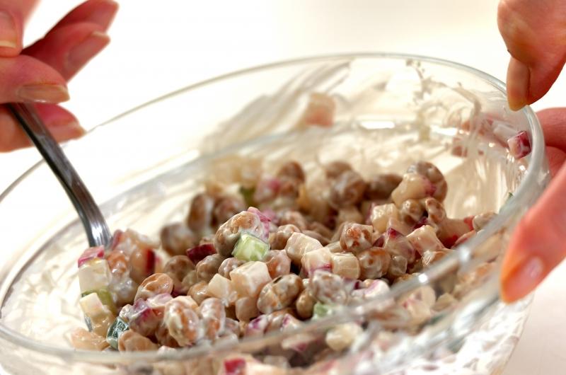 ヨーグルト大豆と赤カブのサラダの作り方の手順3