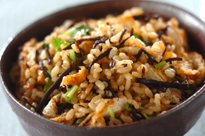 ヒジキの玄米ご飯