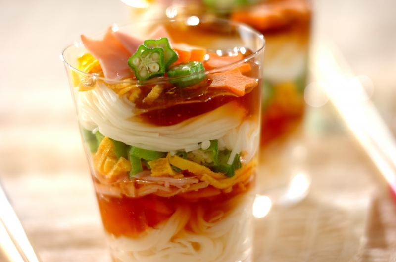 カラフルカップ素麺