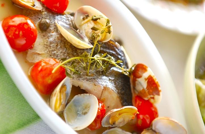 切り身魚で簡単!基本のアクアパッツァ