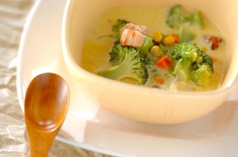 野菜カレークリームスープ