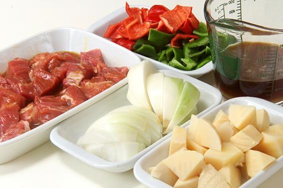 おいしい酢豚の作り方の手順2