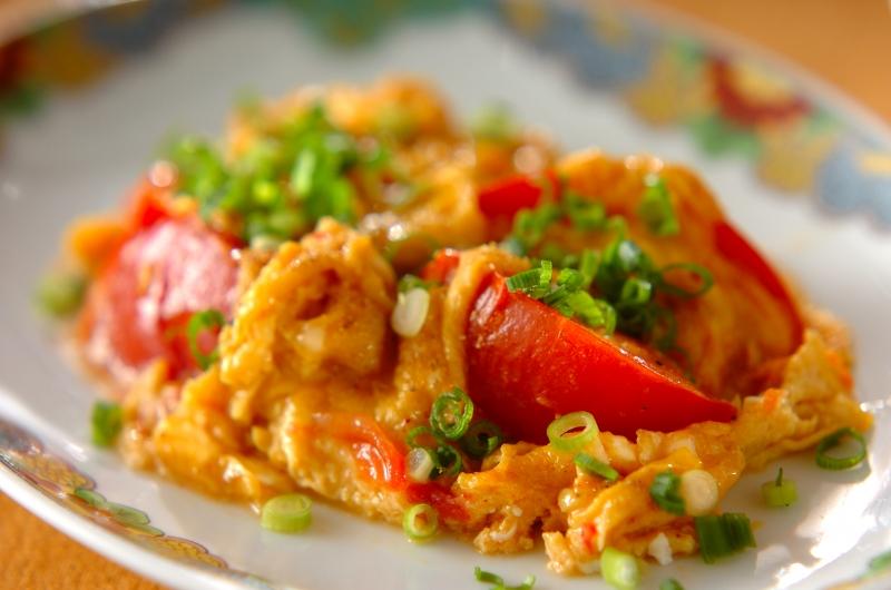 炒め 物 トマト