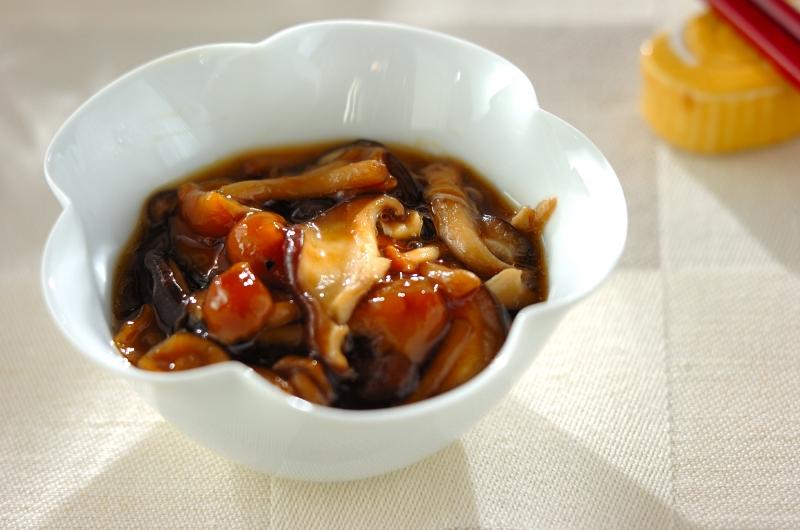 ナメコの甘辛煮の作り方の手順