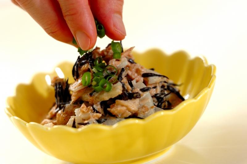 ゴボウとコンニャクの混ぜご飯の作り方の手順8