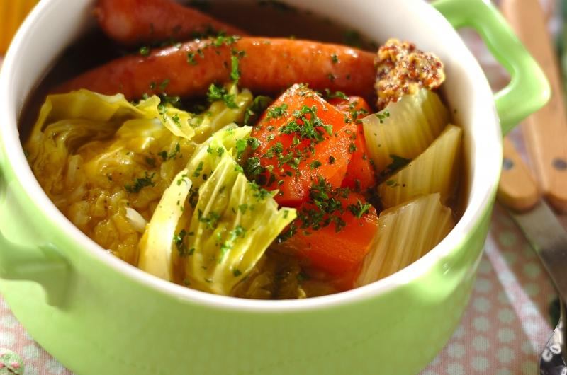 野菜を食べるスープ 基本のポトフの作り方の手順