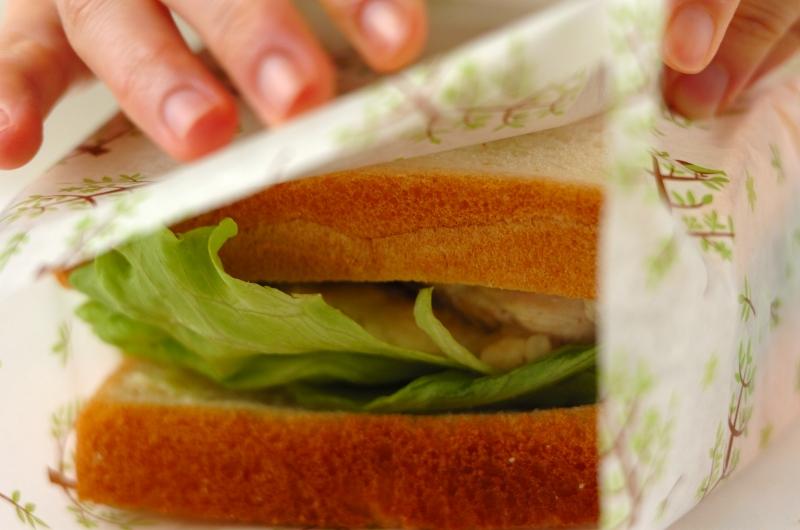 チキンのローズマリーソテーのサンドイッチの作り方の手順6