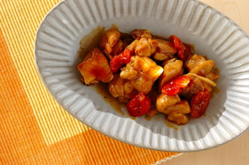 鶏肉とアプリコットの煮込み