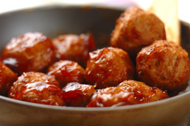 肉団子の照り焼きの作り方の手順5