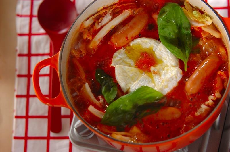 トマト 鍋 カマンベール