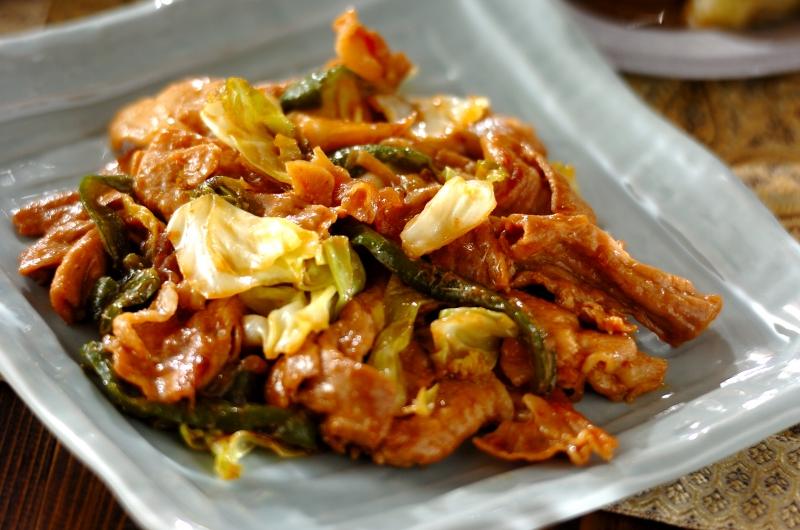 豚肉と野菜のピリ辛炒め