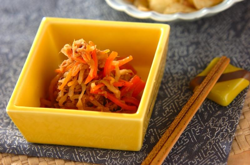 切干し大根とツナの煮物の作り方の手順