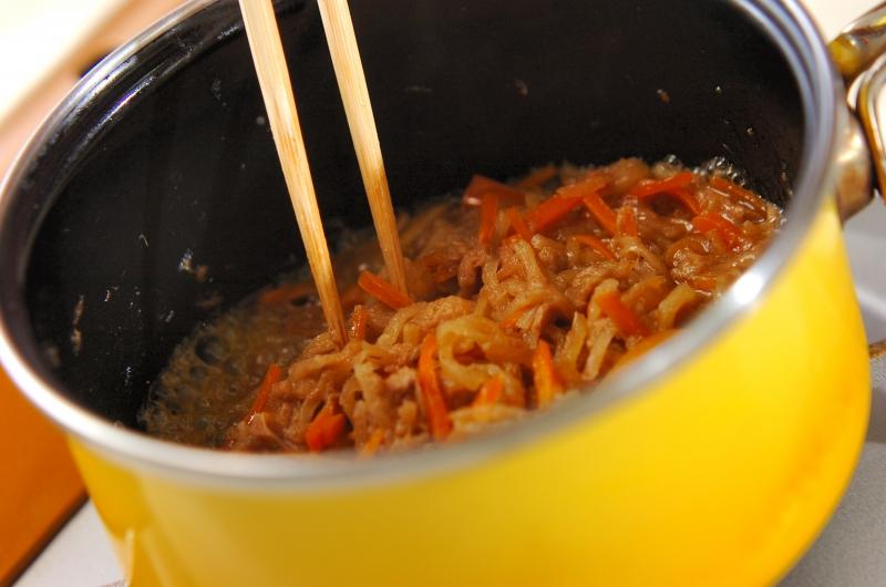 切干し大根とツナの煮物の作り方の手順5