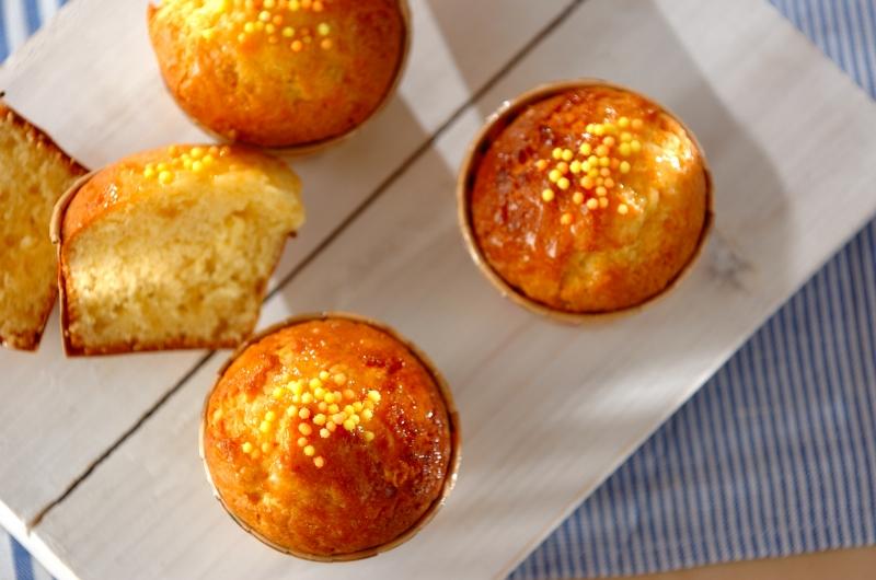 レモンバターケーキの作り方の手順