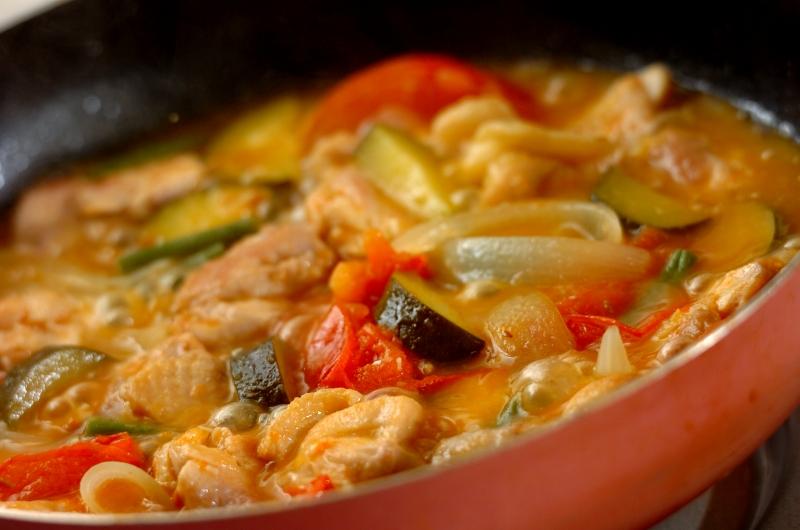 鶏とズッキーニのビール煮の作り方4
