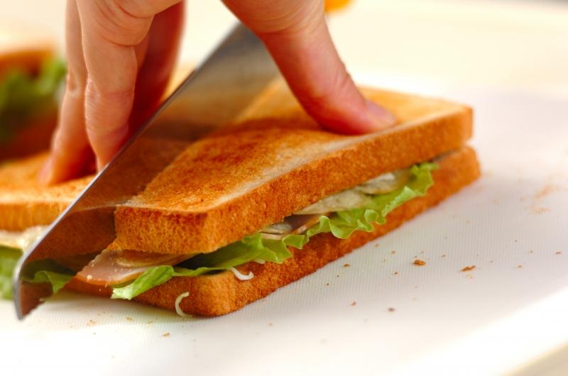 パリパリサンドイッチの作り方の手順3