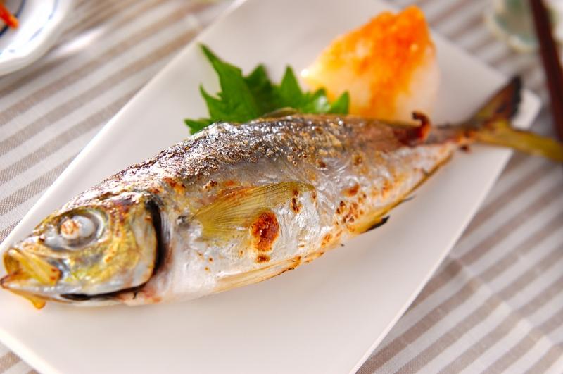 焼き魚おろし添え