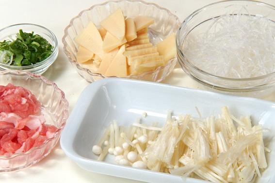 春雨スープの作り方の手順1