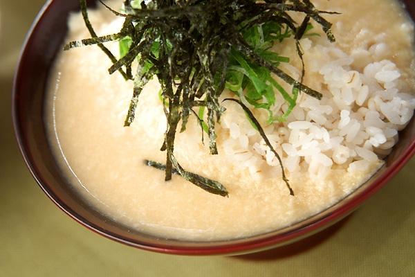 麦とろご飯の作り方の手順