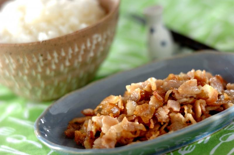 豚バラ肉の塩麹和えの作り方の手順
