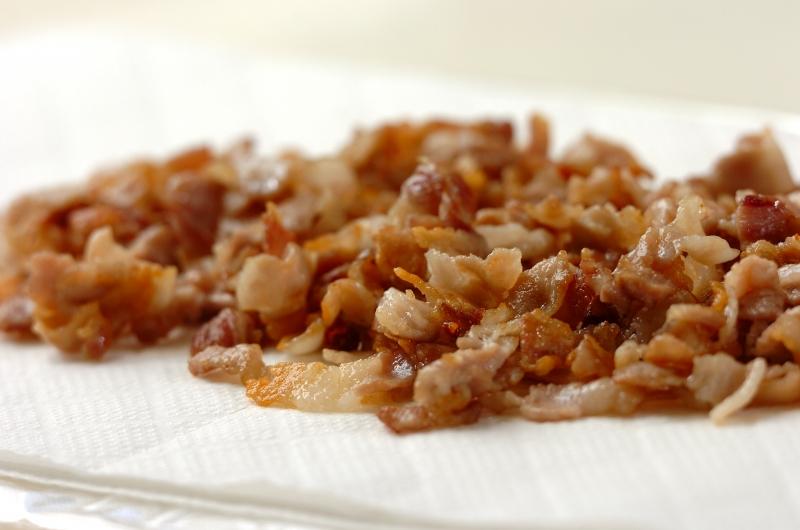豚バラ肉の塩麹和えの作り方1