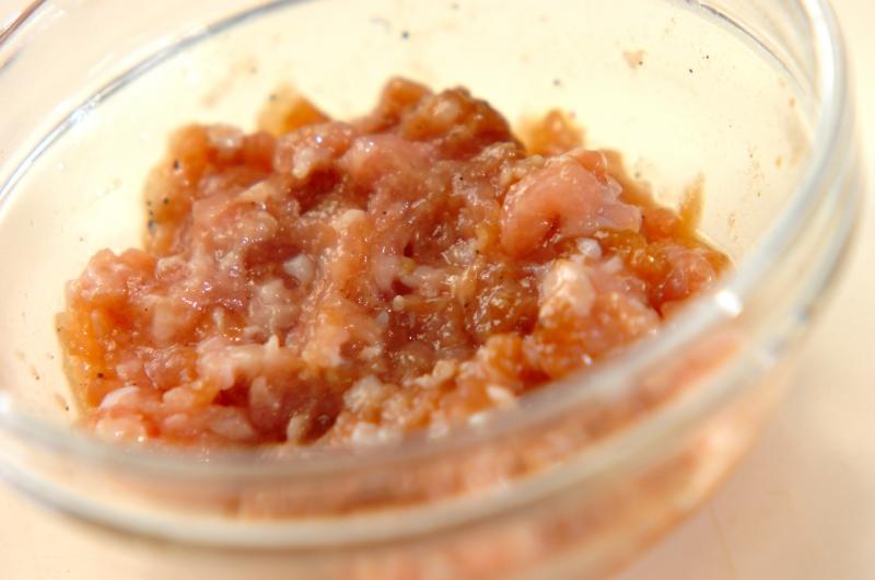 簡単ワンタンスープの作り方の手順1