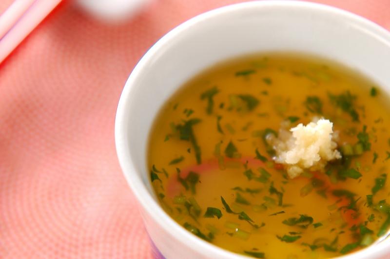 あんかけ茶碗蒸しの作り方の手順