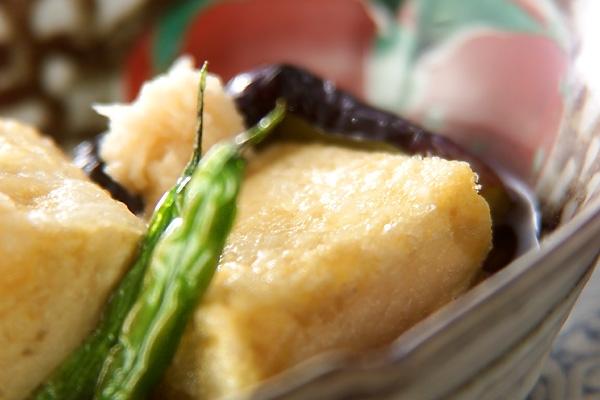 揚げだし豆腐の作り方の手順