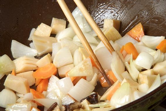 シンプル酢豚の作り方の手順6