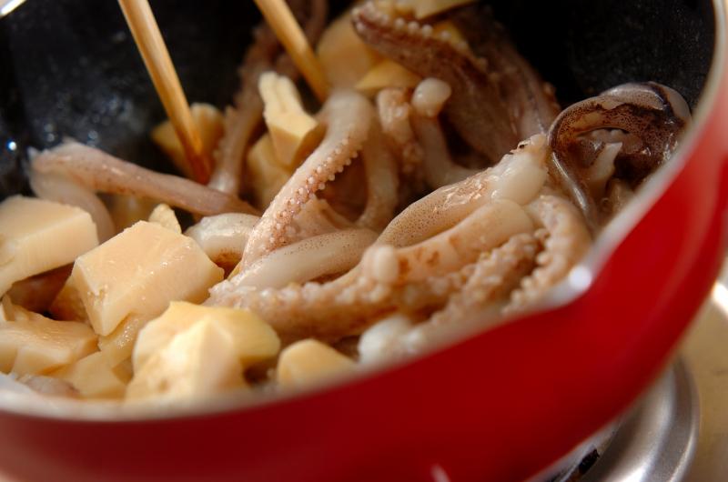 イカゲソの炒め物の作り方の手順3