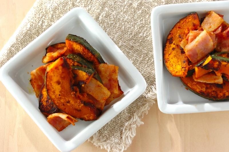 カボチャのカレー炒めの作り方の手順