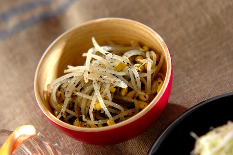 豆モヤシのナムルの作り方の手順
