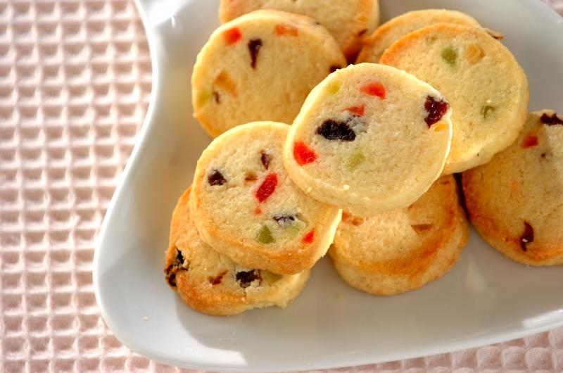 カラフルフルーツクッキーの作り方の手順