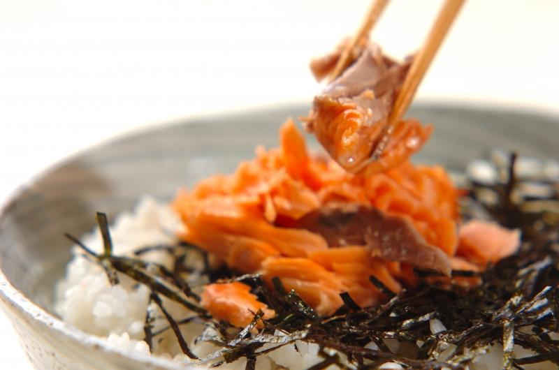 鮭とシラスの和風ビビンバの作り方の手順8