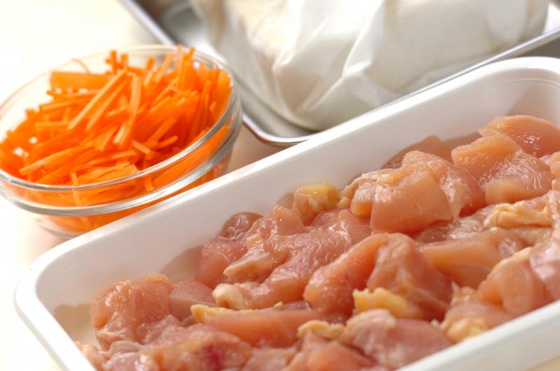 炒り鶏豆腐の作り方の手順1