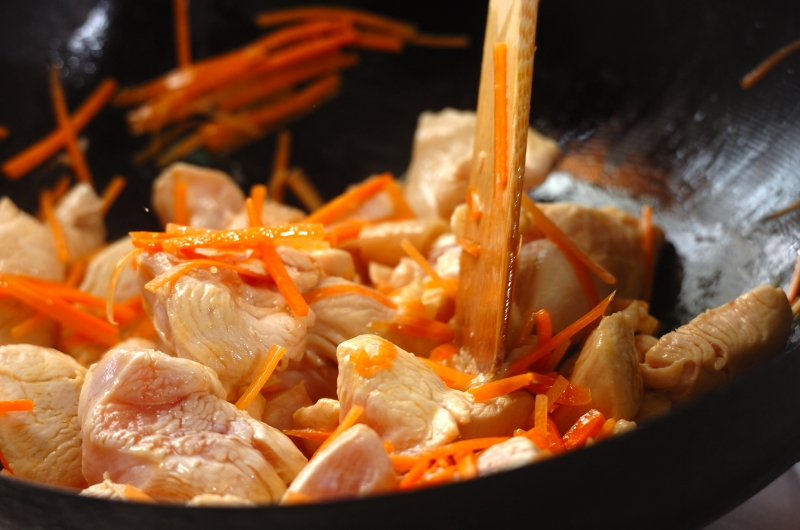 炒り鶏豆腐の作り方の手順6