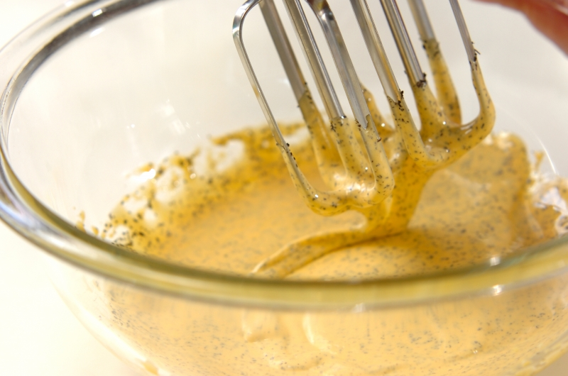 チャイのシフォンケーキの作り方の手順4