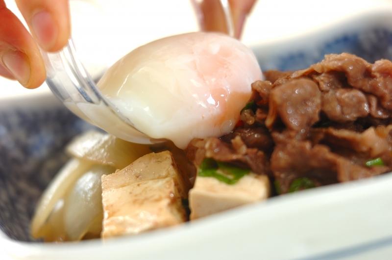 すき焼風煮の作り方の手順4