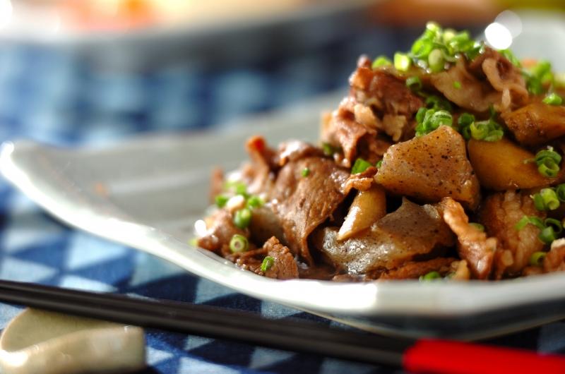牛肉とゴボウの炒め煮